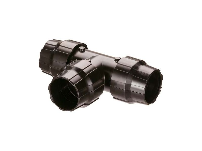 Trójnik fi 40 mm z GW aluminiowy