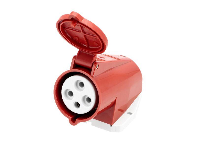 Gniazdo elektryczne 400 V 4 pinowe 16 A