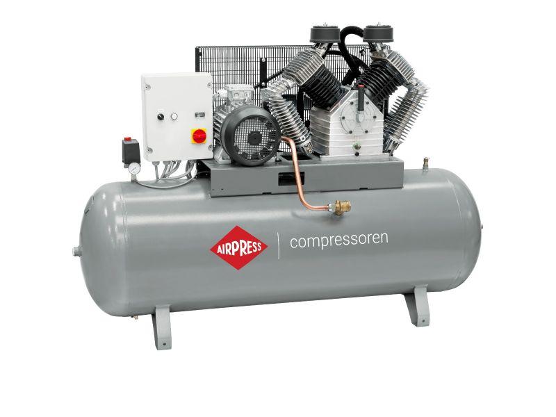 Kompresor HK 2000-500 SD Pro 11 bar 15 KM/11 kW 1395 l/min 500 l Rozruch Gwiazda-Trójkąt