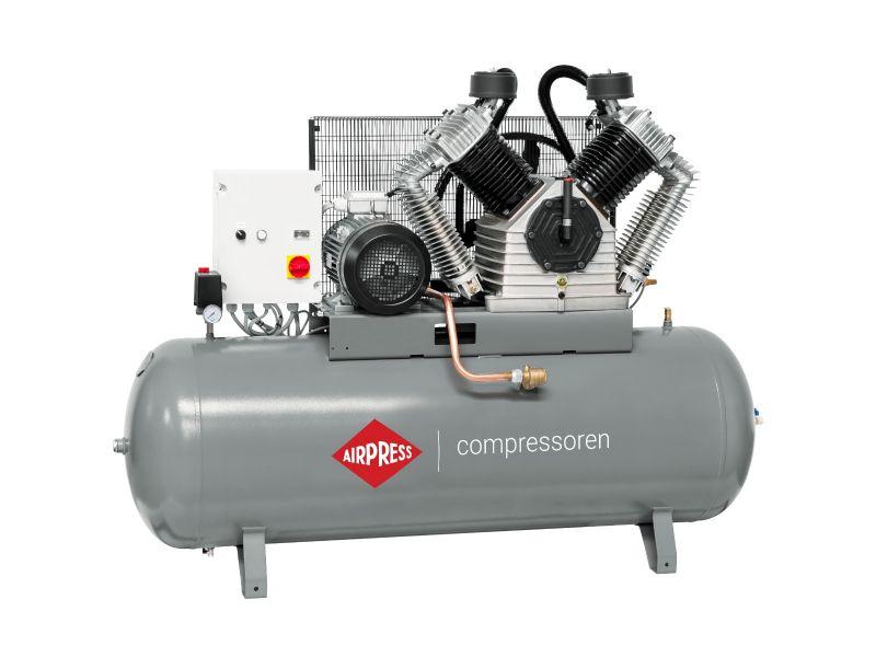 Kompresor HK 2500-500 SD Pro 11 bar 20 KM/15 kW 1700 l/min 500 l Rozruch Gwiazda-Trójkąt