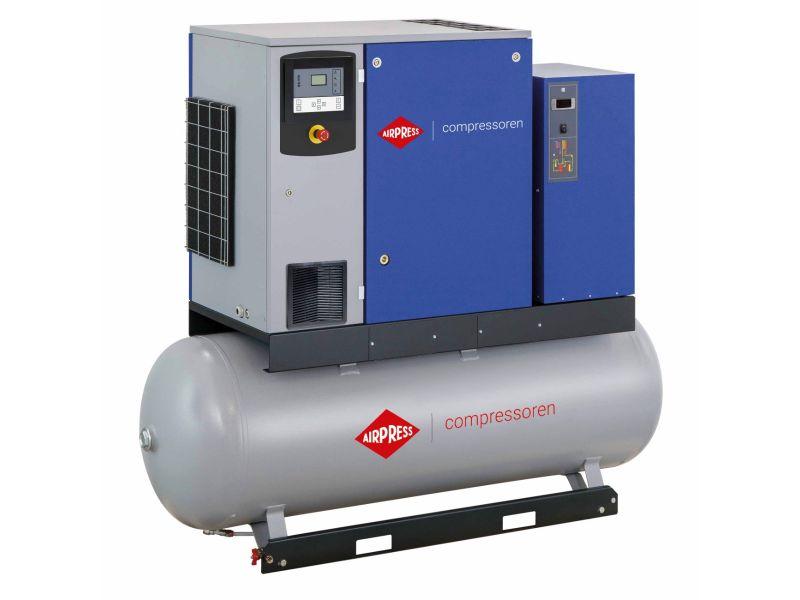 Kompresor śrubowy APS 20DD IVR Combi Dry 13 bar 20 KM/15 kW 258-2290 l/min 500 l