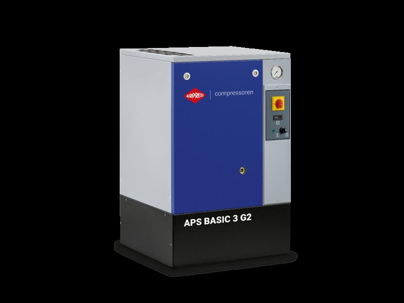 Kompresor śrubowy APS 3 Basic G2 10 bar 3 KM/2.2 kW 294 l/min