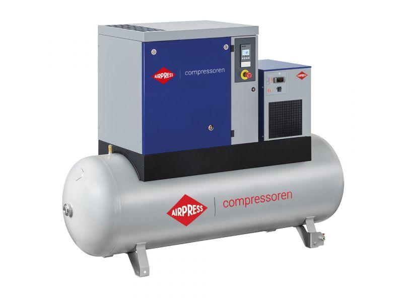 Kompresor śrubowy APS 10 Basic Combi Dry 10 bar 10 KM/7.5 kW 996 l/min 500 l