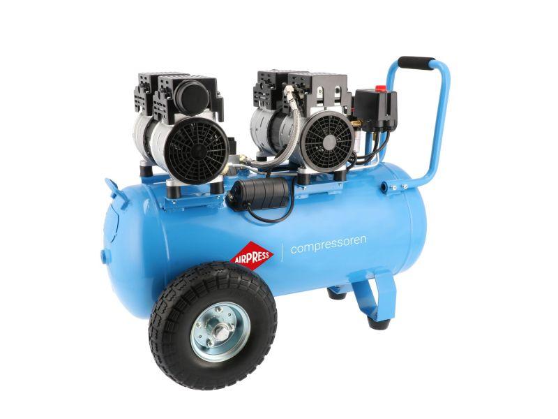 Kompressor Bezolejowy Wyciszany LMO 50-270 8 bar 2 KM/1.5 kW 185 l/min 50 l