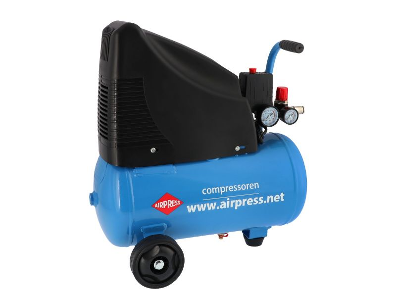Kompresor bezolejowy HLO 215-25 8 bar 1.5 KM 172 l/min 24 l