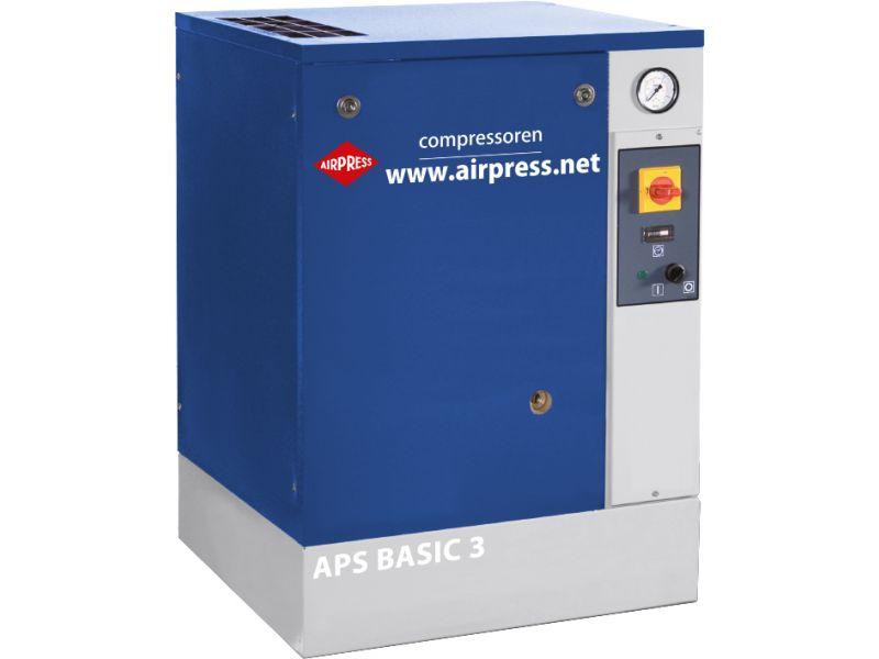 Kompresor śrubowy APS 3 Basic 10 bar 3 KM 240 l/min