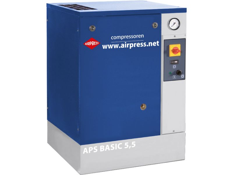 Kompresor śrubowy APS 5.5 Basic 10 bar 5.5 KM 470 l/min