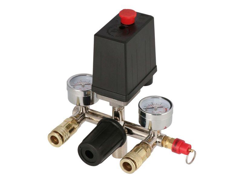 Reduktor z wyłącznikiem ciśnieniowym szybkozłącza
