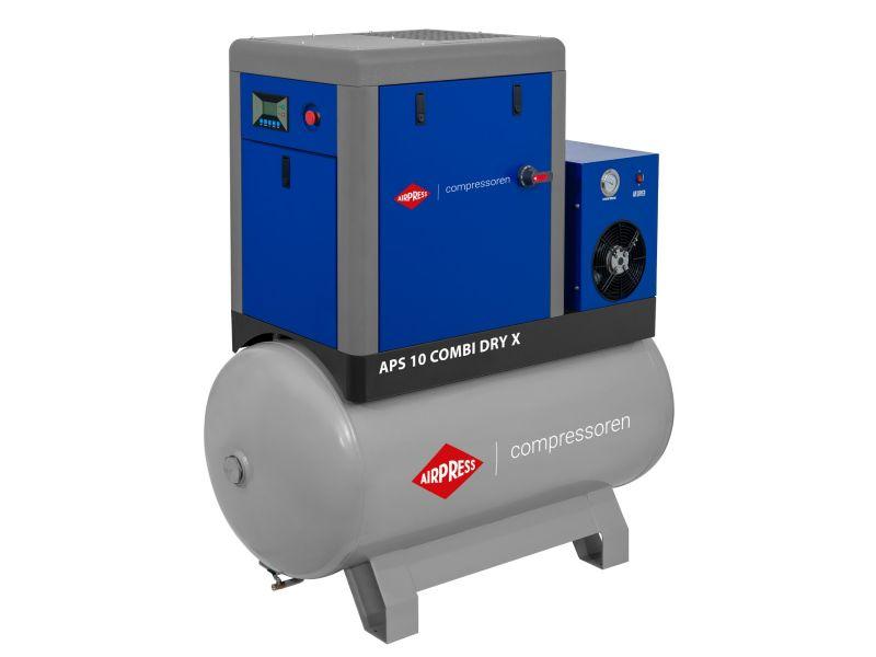 Kompresor śrubowy APS 10 Combi Dry X 10 bar 10 KM/7.5 kW 920 l/min 500 l