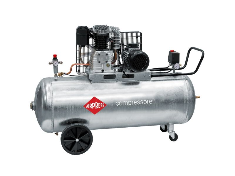 Kompresor G 600-200 Pro 10 bar 4 KM/3 kW 380 l/min galwanizowany 200 l