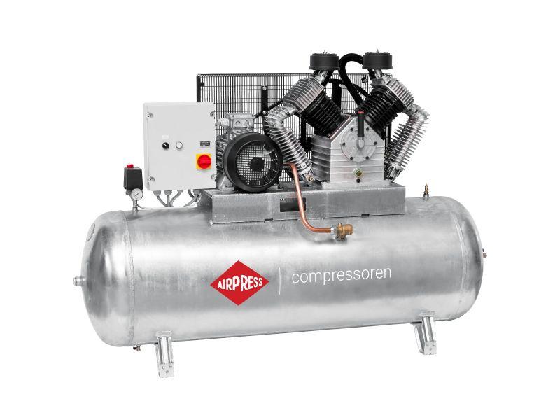 Kompresor G 2000-500 SD Pro 11 bar 15 KM/11 kW 1395 l/min galwanizowany 500 l Rozruch Gwiazda-Trójkąt