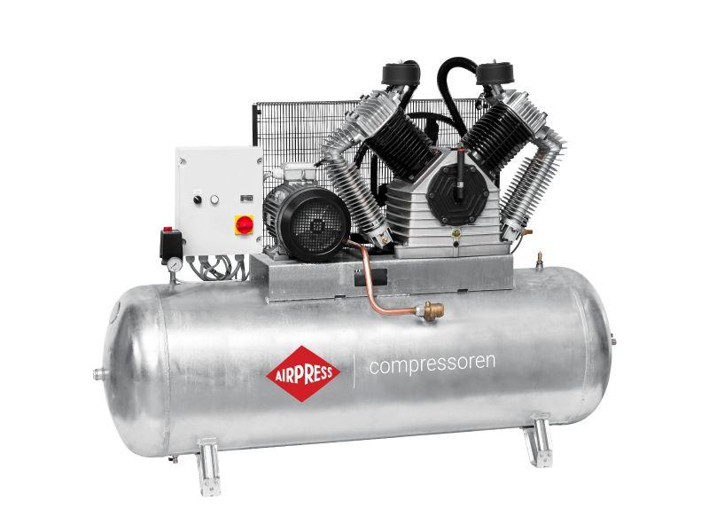 Kompresor G 2500-500 SD Pro 11 bar 20 KM/15 kW 1700 l/min galwanizowany 500 l Rozruch Gwiazda-Trójkąt