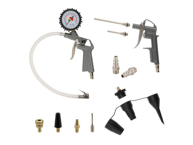 Zestaw 16 akcesoriów pneumatycznych