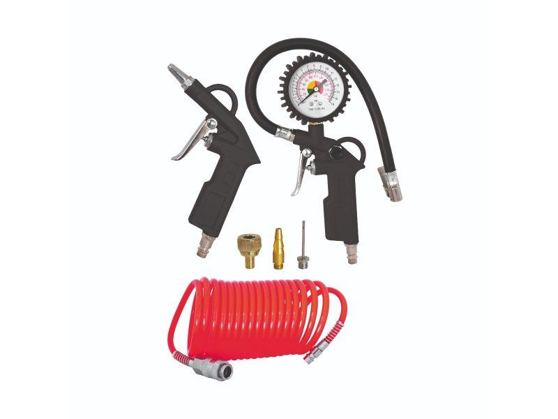 Zestaw narzędzi pneumatycznych 6 elementów