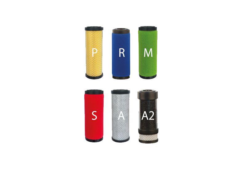 """""""S"""" – filtr odolejający 0,01 μm / pozostałość oleju < 0,01mg/m3 F007 1/2"""
