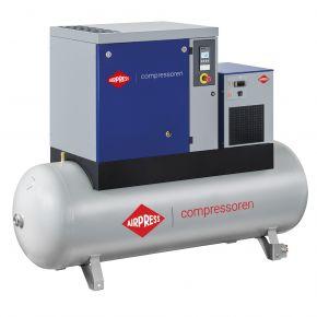 Kompresor śrubowy APS 15 Basic Combi Dry 10 bar 15 KM/11 kW 1416 l/min 500 l