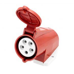 Gniazdo elektryczne 400 V 5 pinowe 32 A