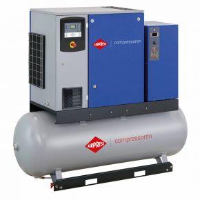 Kompresor śrubowy APS 10DD IVR Combi Dry 12.5 bar 10 KM/7.5 kW 270-1260 l/min 500 l