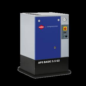 Kompresor śrubowy APS 5.5 Basic G2 10 bar 5.5 KM/4 kW 516 l/min