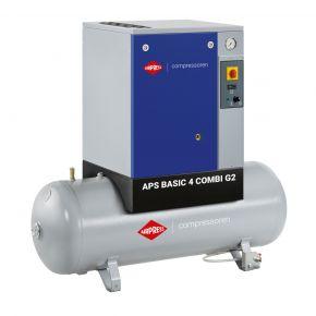 Kompresor śrubowy APS 4 Basic G2 Combi 10 bar 4 KM/3 kW 366 l/min 200 l
