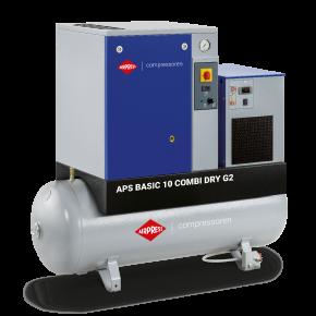 Kompresor śrubowy APS 10 Basic G2 Combi Dry 10 bar 10 KM/7.5 kW 984 l/min