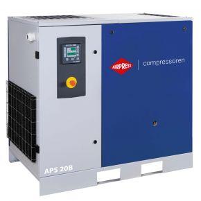 Kompresor śrubowy APS 20B 8 bar 20 KM/15 kW 2090 l/min