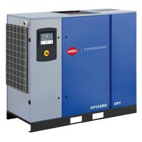 Kompresor śrubowy APS 30BD Dry 10 bar 30 KM/22 kW 3320 l/min
