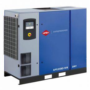 Kompresor śrubowy APS 35BD IVR Dry 13 bar 35 KM/26 kW 770-4835 l/min