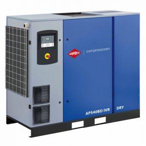 Kompresor śrubowy APS 40BD IVR Dry 13 bar 40 KM/30 kW 1000-5800 l/min