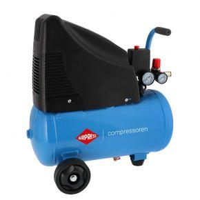 Kompresor bezolejowy HLO 215-25 o ciśnieniu maksymalnym 8 bar i mocy 1.5 KM
