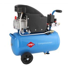Kompresor HL 150-24 + zestaw 16 akcesoriów pneumatycznych