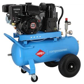 Mobilny kompresor BM 50-330 10 bar 5.5 KM/4 kW 220 l/min 50 l