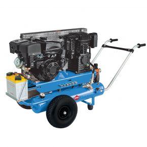 Mobilny kompresor BM 17+17 10 bar 5.5 KM/4 kW 450 l/min 2 x 17 l
