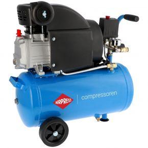 Kompresor tłokowy H 310-25 o ciśnieniu maksymalnym 8 bar i mocy 2 KM