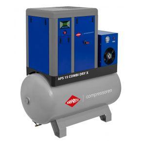 Kompresor śrubowy APS 15 Combi Dry X 10 bar 15 KM/11 kW 1410 l/min 500 l