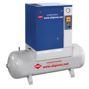 Kompresor śrubowy APS 3 Basic Combi 10 bar 3 KM 240 l/min 200 l