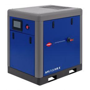 Kompresor śrubowy APS 7.5 IVR X 10 bar 7.5 KM/5.5 kW 170-690 l/min