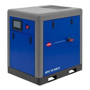 Kompresor śrubowy APS 10 IVR X 10 bar 10 KM/7.5 kW 270-950 l/min