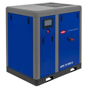 Kompresor śrubowy APS 15 IVR X 10 bar 15 KM/11 kW 380-1410 l/min