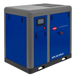 Kompresor śrubowy APS 30 IVR X 10 bar 30 KM/22 kW 730-2950 l/min