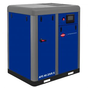 Kompresor śrubowy APS 40 2IVR X 10 bar 40 KM/30 kW 1850-4700 l/min