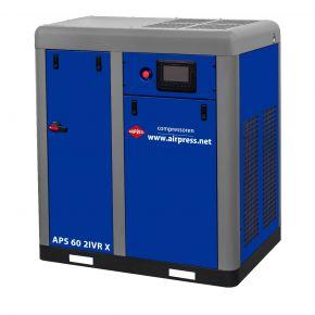 Kompresor śrubowy APS 60 2IVR X 10 bar 60 KM/45 kW 3010-7710 l/min