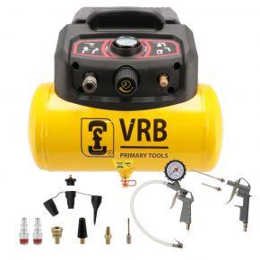 Kompresor 8LC6-1.5 VRB 8 bar 2.0 KM 180 l/min 6 l + zestaw akcesoriów 4300025