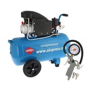 Kompresor tłokowy HL 155-50 o ciśnieniu maksymalnym 8 bar i mocy 1.5KM