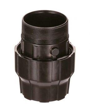 """Aluminiowe złącze do rur fi 63 mm 2 1/2"""" GZ"""