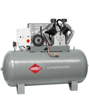 Kompresor HK 2000-900 SD Pro 11 bar 15 KM 1395 l/min 900 l Rozruch Gwiazda-Trójkąt