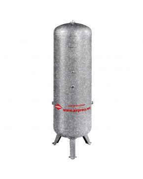 Zbiornik na sprężone powietrze 500 l pionowy galwanizowany 11 bar