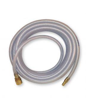 Wąż techniczny PVC okuty Orion 10 m fi 8 mm