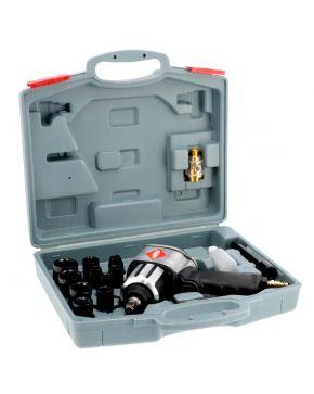 """Klucz udarowy z nasadkami 1/2"""" 610 Nm 7500 obr/min 6.2 bar 240 l/min"""