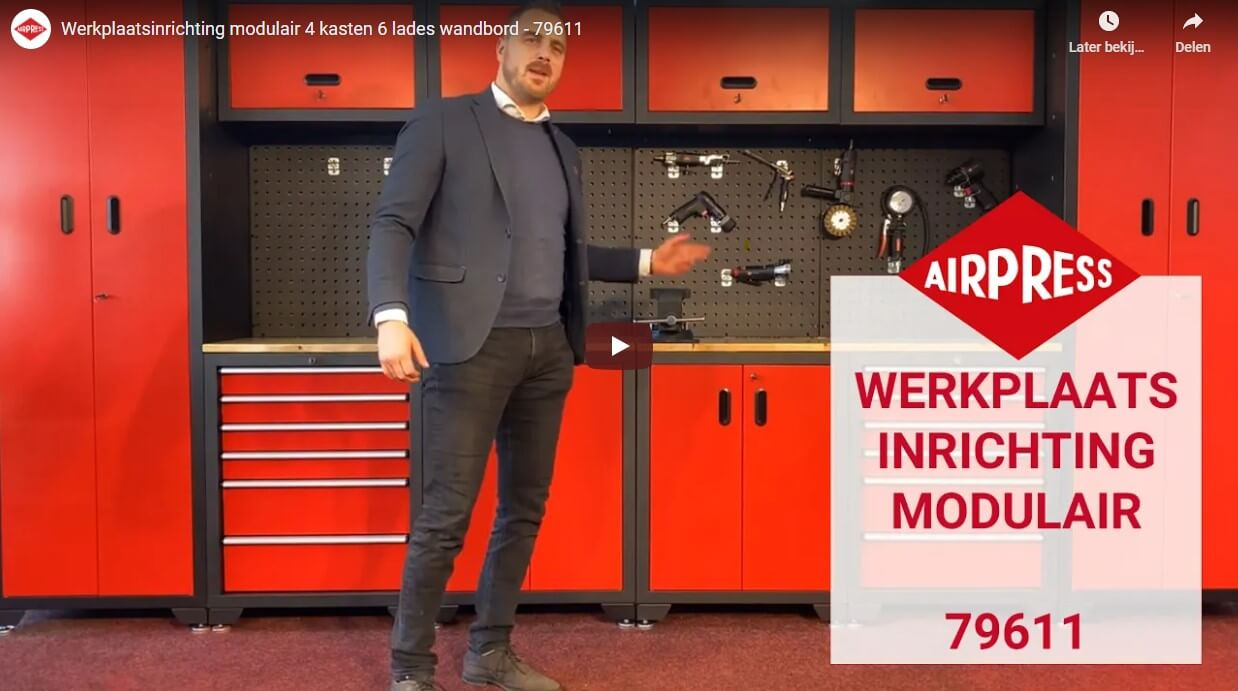 Video over de werkplaatsinrichting